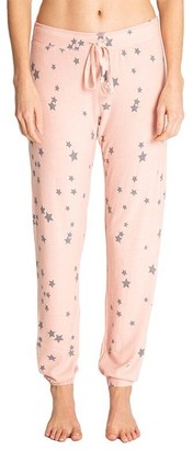 PJ Salvage PARTY STARS BANDED PANT - BLUSH, EXTRA LARGE