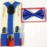Coool Baby Toddler Kids Children Boys Girls Bow Tie & Suspender Set