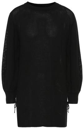 Black Cashmere Sweater Dress ShopStyle