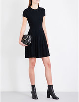 The Kooples Fit-and-flare knitted dress