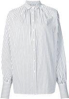 Tome striped oversized shirt - women - Cotton - XS