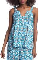 Plenty by Tracy Reese Keyhole Tank Top