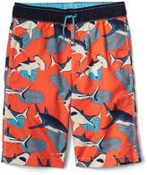 Sea life swim trunks