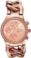 Jivago Women's JV1247 Analog Display Swiss Quartz Rose Gold Watch