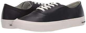 SeaVees Legend Sneaker Leather (Black) Women's Shoes