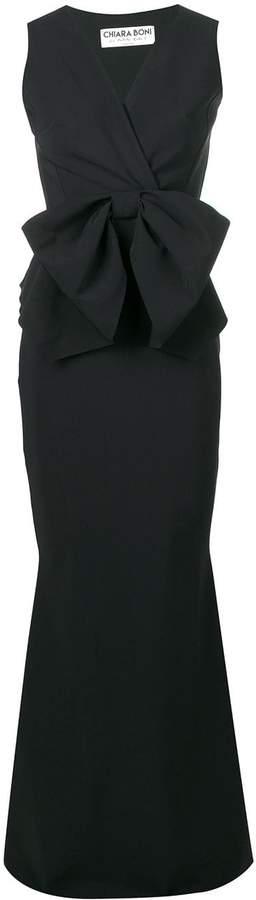 48af45f543f Black Bow Tie Dress - ShopStyle