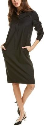 Max Mara Melania Wool Shift Dress