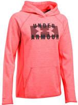Under Armour Women's Storm Armour Fleece Big Logo Twist Hoodie