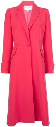 Carolina Herrera Long Single Breasted Coat