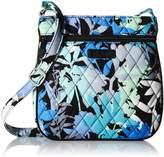 Vera Bradley Petite Double Zip Hipster Cross Body Bag