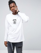 Stussy Long Sleeve T-shirt With Link Logo