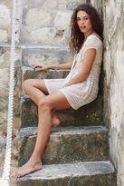 aerie K Ti Per Te Crochet Dress