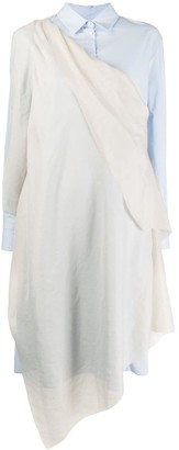 Chalayan Draped Shirt Dress