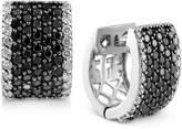 Macy's EFFY Diamond Hoop Earrings (2 ct. t.w.) in 14k White Gold