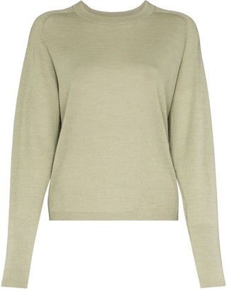 Carcel Knitted Crew Neck Jumper