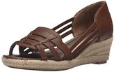 LifeStride Women's Outspoken Espadrille Wedge Sandal