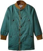 Siaomimi Bomber Long Jacket (Toddler/Kid) - Seafoam - 5