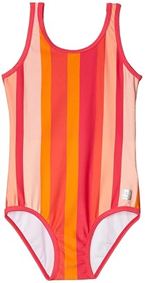 reima Swimsuit Sumatra (Toddler/Little Kids/Big Kids) (Berry Pink) Girl's Swimsuits One Piece