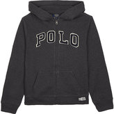 Polo Ralph Lauren zip-up cotton-blend hoody