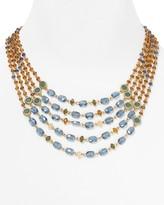 """Lauren Ralph Lauren Imperial Jewels 5 Strand Beaded Necklace, 16"""""""