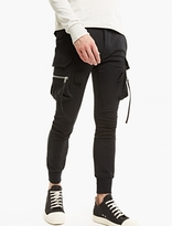 Rick Owens Black Mo Skinny-fit Cargo Joggers