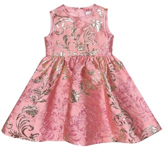Dolce & Gabbana Kids Baby floral brocade dress