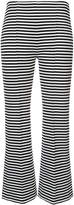 Sonia Rykiel cropped stripe trousers