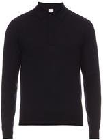Paul Smith Long-sleeved Wool Polo Shirt