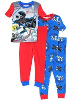 Lego Ninjago Boys 4 pc Cotton Pajamas
