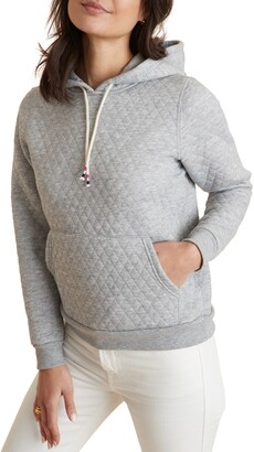 Marine Layer Lady Corbet Quilted Hoodie