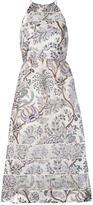 Zimmermann floral A-line dress