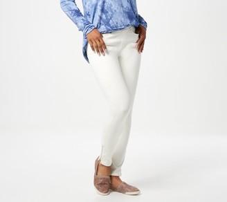 Belle By Kim Gravel Tall Flexibelle Zip Ankle Jeans