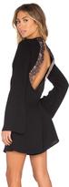 BCBGMAXAZRIA Giulianna Lace Open Back Dress