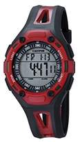 Calypso Unisex Digital Watch with LCD Dial Digital Display and Black Plastic Strap K5666/4