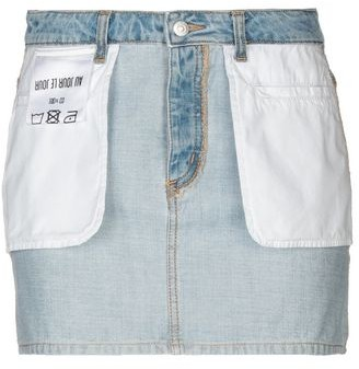 Au Jour Le Jour Denim skirt