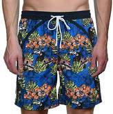 Bruno Banani Men's Bermuda Reef Break Swim Shorts - multi-coloured -
