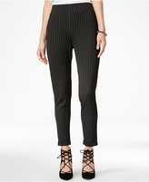 Material Girl Juniors' Pull-On Pinstriped Skinny Pants, Only at Macy's