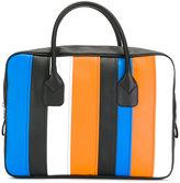 Comme des Garcons striped tote bag