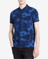 Calvin Klein Jeans Men's Camo Four-Button Polo