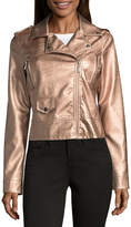 Joujou Jou Jou Faux Leather Moto Jacket-Juniors
