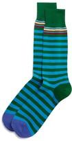 Paul Smith Multistripe Contrast Toe Socks