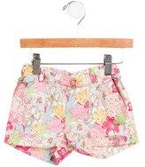 Bonpoint Girls' Floral Mini Shorts