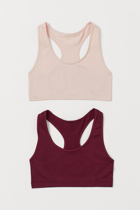 H&M 2-pack Seamless Tops