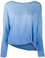 Zanone long sleeved gradient top