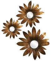 Bloomingdale's Howard Elliott Fleur Mirror, Set of 3