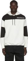 Moncler Off-White Polar Fleece Maglia Logotype Hoodie