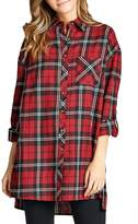 Minx Oversized Red Flannel