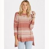 Billabong Women's Tidal Mirage High Low Hem Sweater
