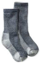 L.L. Bean Men's SmartWool Hiking Socks, Medium Crew