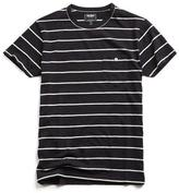 Todd Snyder Stripe Classic Button Pocket Tee in Black